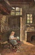 Postcard / CP / Postkaart / Raphael Tuck / For Mother's Birthday / Oilette No 1534 / 1905 - Tuck, Raphael