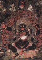 """Tibet--Exposition """" Dieux Et Demons De L'Himalaya """" --1977--Le Gardien De La Loi Mahâkâla - Tíbet"""