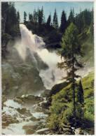 Oberer KRIMMLER Wasserfall, Riesenkarte A5 - Krimml