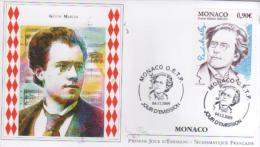 MONACO    Gustav Mahler 1860/1911 Compositeur Et Chef D'orchestre  4/12/09 - Musica