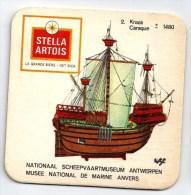 Belgique Stella Artois Thème Bateau Navire - Sous-bocks