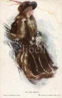 Postcard / CP / Postkaart / Dog / Chien / My Lady Drives / Ed. Reinthal & Newman / Artist Harrison Fisher - Fisher, Harrison