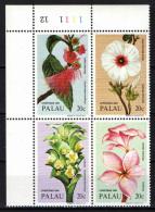 PALAU - 1984 - FIORI TROPICALI NATALIZI - NUOVI MNH - Palau