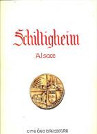 Livre - Pochette Contenant 16 Reproductions D'aquarelles De Schiltigheim (Bas-Rhin) Peintes Par L M Wolff - Alsace