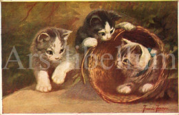 Postcard / CP / Postkaart / Cats / Chats / Artist Francis Fernon / Ed. Primus Wouno / No 03335 / 1927 - Illustrateurs & Photographes