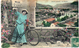MILLAU - Fantaisie - Bicyclette - Vue Générale  ..;    (85524) - Millau