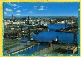 DUNKERQUE - Vue Générale Sur Le Port Edit Estel - Dunkerque