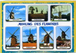 Les Moulins Des Flandres. Edit Yvon . Boescheepe Steenvoorde Cassel Wormhout Gravelines Hondschoote - Altri Comuni