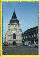 Marcq-en-Baroeul. Place Du General De Gaulle Et Eglise Saint Vincent. Edit Le Belier N° 702 - Marcq En Baroeul
