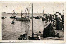 QUIBERON (56) - Un Coin Du Port Avec Les Bateaux De Pêche - Quiberon