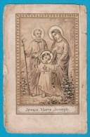 Image Pieuse / Santino / Heiligenbild - Sainte Famille / Santa Famiglia / Heilige Familie - Images Religieuses