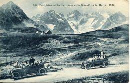 DAUPHINE (05) - Visite En Voitures Du Lautaret Et Du Massif De La Meije - Non Classés