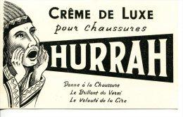Buvard Crème De Luxe HURRAH Pour Chaussures - Scarpe