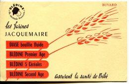Buvard Farines JACQUEMAIRE BLEDINE - Thèmes : Epis - Alimentare