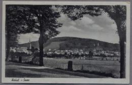 Kirkel  Saar  Gesamtansicht Mit Ruine  Uber 1940y.  C24 - Saarpfalz-Kreis