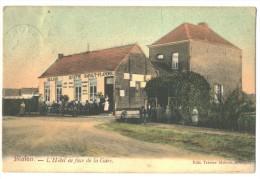 Superbe Cpa Blaton  Hotel   Gare - Bernissart