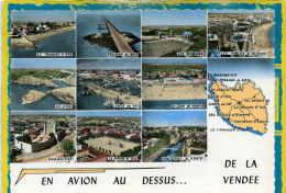La Tranche Sur Mer, Passage Du Gois, Les Herbiers, Les Sables D'olonne, Ile D'yeu, Croix De Vie, Noirmoutier... En Avion - Francia