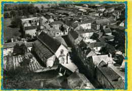 Les Verchers. L'Eglise Et Le Bourg. En Avion Au Dessus De... Edit Lapie N° 3   Postée 1965 - Other Municipalities