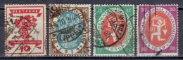 Deutsches Reich - Mi-Nr 107/110 Gestempelt / Used (B1199) - Gebraucht