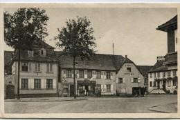 CPSM 67 BRUMATH PLACE DE LA LIBERTE 1954 - Brumath