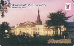 Thailand Prepaidcard  BTS Train Eisenbahn Building - Eisenbahnen