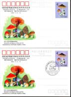 Chine China 1989 Symposium De Biotechnologie Mycologie - Mushrooms