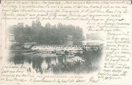 CPA 51 - Chalons Sur Marne - Le Barrage - Châlons-sur-Marne