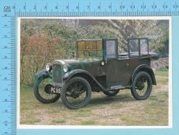 Austin 7 Chummy Tourer, 1930 - Old Luxury Car Vieille Auto De Luxe - 2 Scans - Voitures De Tourisme