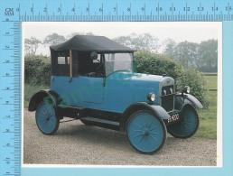 Trojan 10 HP Utility Chummy Rourer, 1925 - Old Luxury Car Vieille Auto De Luxe - 2 Scans - Voitures De Tourisme