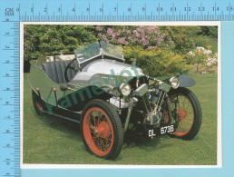 Morgan Flat-sided Aero 200 Mile Replica, 1924 - Old Luxury Car Vieille Auto De Luxe - 2 Scans - Voitures De Tourisme