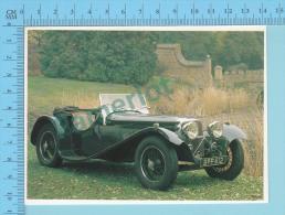 SS90, 1935 - Old Luxury Car Vieille Auto De Luxe - 2 Scans - Voitures De Tourisme