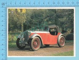 Singer Nine Sports, 1933 - Old Luxury Car Vieille Auto De Luxe - 2 Scans - Voitures De Tourisme