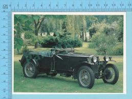 Frazer Nash Super Sport, 1929 - Old Luxury Car Vieille Auto De Luxe - 2 Scans - Voitures De Tourisme