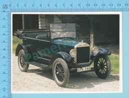 Ford Model T-Tourer, 1926 - Old Luxury Car Vieille Auto De Luxe - 2 Scans - Voitures De Tourisme