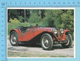 Riley IMP, 1934 - Old Luxury Car Vieille Auto De Luxe - 2 Scans - Voitures De Tourisme