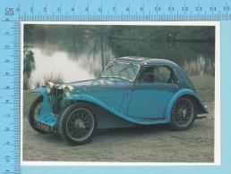 MG Pa Airline Coupe, 1935 - Old Luxury Car Vieille Auto De Luxe - 2 Scans - Voitures De Tourisme