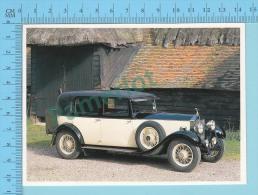 Rolls-Royce 20/25, 1932 - Old Luxury Car Vieille Auto De Luxe - 2 Scans - Voitures De Tourisme