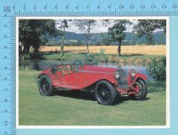 Alfa Romeo 6C 1750 Zagato, 1930 - Old Luxury Car Vieille Auto De Luxe - 2 Scans - Voitures De Tourisme