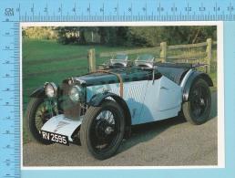 MG J2 Midget, 1932 - Old Luxury Car Vieille Auto De Luxe - 2 Scans - Voitures De Tourisme