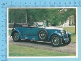 Minerva AK32/34, 1928 - Old Luxury Car Vieille Auto De Luxe - 2 Scans - Voitures De Tourisme