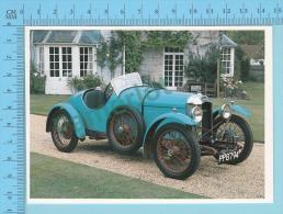 Amilcar CGSs, 1927 - Old Luxury Car Vieille Auto De Luxe - 2 Scans - Voitures De Tourisme