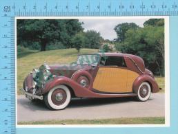 Rolls-Royce Wraith Sedanca De Ville, 1939 - Old Luxury Car Vieille Auto De Luxe - 2 Scans - Voitures De Tourisme