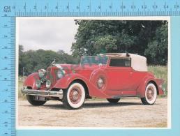 Packard Twelve Series 1107 Convertible, 1934 - Old Luxury Car Vieille Auto De Luxe - 2 Scans - Voitures De Tourisme