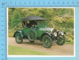 Singer Ten, 1915 - Old Luxury Car Vieille Auto De Luxe - 2 Scans - Voitures De Tourisme