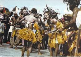 AFRIQUE NOIRE - GABON - Les Hommes De La Danse - Jolie CPSM GF - Black Africa - Gabon