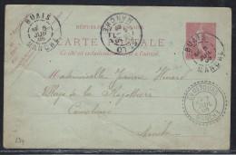 Manche, Càd Perlé Cametours Sur CP De Buais - 1877-1920: Période Semi Moderne