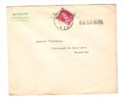 TP 528 S/L.c.Charleroi En 1945 + Griffe Ham Sur Heure V.Bruxelles PR2865 - Postmark Collection