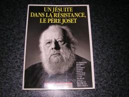 UN JESUITE DANS LA RESISTANCE Le Père Joset  La Voix Des Belges Journal Clandestin Guerre 40 45 WW II - Guerra 1939-45