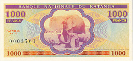 Katanga 1000 Francs 2013 émission Privée UNC - Non Classificati