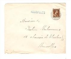 TP 427 S/L.c.Bruxelles Midi En 1938  + Griffe Noucelles V.Bruxelles PR2867 - Postmark Collection